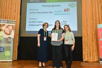 premio IAPA mejor au pair en USA